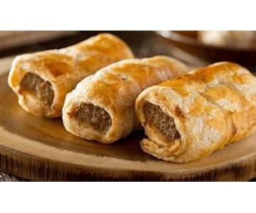 Garlic Sausage Rolls